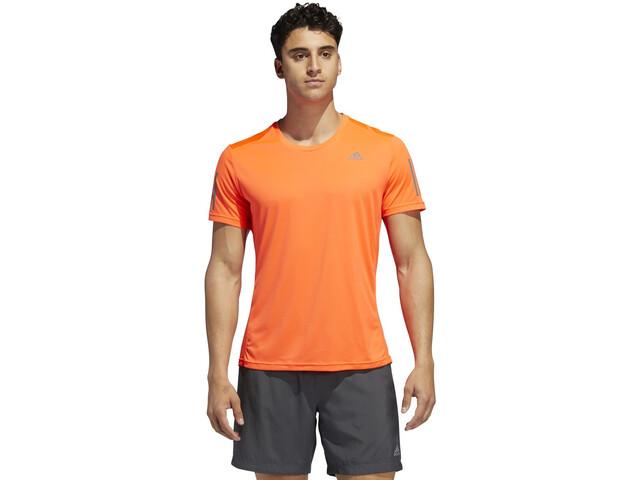 adidas OWN The Run Camiseta Hombre, solar red